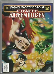 "1981 Marvel Bizarre Adventures FRANK MILLER ELEKTRA ""Comic Magazine"" #28 VF/NM!!"