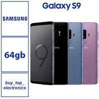 NEW SAMSUNG GALAXY S9 SM-G960F 64GB/256GB BLACK BLUE PURPLE AUSTRALIAN STOCK