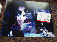 Alice Cooper PSA/DNA COA Autographed authentic Signed 8x10 auto Certified