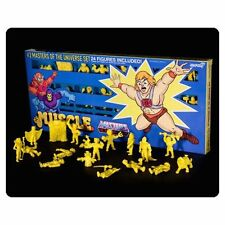 Masters of the Universe M.U.S.C.L.E. Mini Figure Yellow 24-Pack Convention