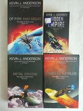 KEVIN J ANDERSON 4 BOOK SET COLLECTION - PAPERBACK