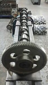 Good used camshaft with gear for Caterpillar c13 3489820 (polished) 20R1143