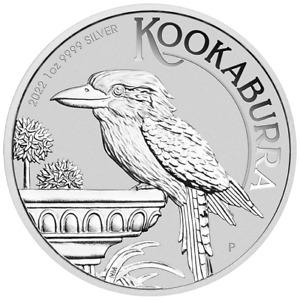 2022 Australian Kookaburra 1oz .9999 Silver Bullion Coin - The Perth Mint