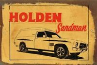 Holden Sandman metal sign 20 x 30 cm free postage