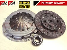FOR FIAT PUNTO 1.2 8V 60 BHP NEW 3pc CLUTCH COVER DISC RELEASE BEARING KIT 99-06