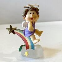 1983 Rainbow Angel Baby Vintage Hallmark Keepsake Christmas Ornament QX416-7