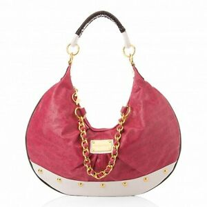 Baby Phat...special edition LUXE COUTURE hobo w/GOLD chain...PINK...NWT...BP5800