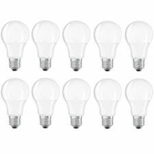 10x Osram E27 LED Bulb 10w Very Warm White 2700K 4 Year Warranty