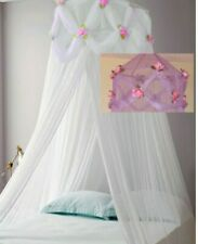 Princess ROSES Ruffle Princess PURPLE Bed Canopy FREE SHIPPING FROM USA