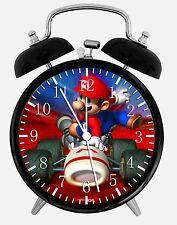 "Super Mario Kart Alarm Desk Clock 3.75"" Home or Office Decor W56 Nice For Gift"