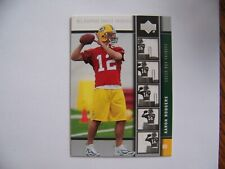 2005 Upper Deck Rookie Premiere Aaron Rodgers #16 rookie card - Packers