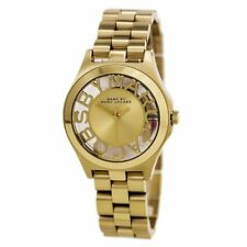 NEW Marc by Marc Jacobs Ladies MBM3292 Skeleton Gold Tone S-Steel Bracelet Watch