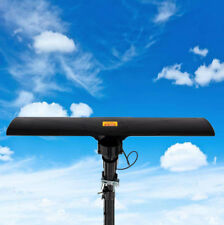 Leadzm 150Mile Rotating Outdoor Amplified HD 1080P Digital TV Antenna UHF/VHF/FM