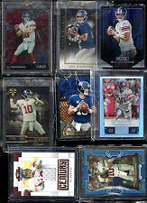 Eli Manning 8 Card Lot! ALL Jersey #! 1/1? RARE! New York Giants 2x Champion QB!