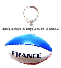 Porte clés RUGBY BALLON FRANCE français DRAPEAU