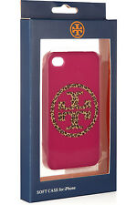 TORY BURCH LEOPARD PRINT LOGO IPHONE 4 / 4S FITTED CASE