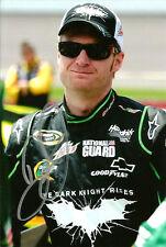 Dale Earnhardt Jr THE DARK KNIGHT RISES BATMAN WIN Signed Auto 4x6 Photo #1