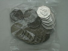 NEW MINT CONDITION 2013 SHIELD OF ROYAL ARMS UNCIRCULATED BAG OF 20X 50p COINS
