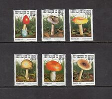MUSHROOMS/FUNGI - Benin  1997  set of 6 -(SC 1029-34)-MNH-Z709