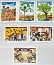 MALI 1984 1011-16 488-93 Rural Development Verbesserung Lebensbedingungen MNH