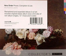 New Order –Power, Corruption & Lies - 2 cd Collector's Edition-Rock, Electro,dj