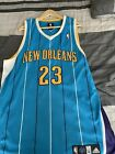 Anthony Davis New Orleans Hornets Adidas Authentic Jersey Sz 48 Xl
