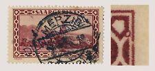 SARRE / SAAR / SAARGEBIET 1928 Yv.S22 / Mi.D18.III Plattenfehler Kreis rechts...