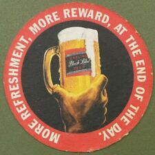 Carling Black Label Beer Mat