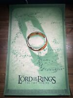 """""""Lord Of The Rings: The Two Towers"""" By Doaly Art Print Poster FOIL XX/325 Mondo"""