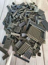 LEGO - 500g of random MIXED DARK GREY GRAY Bricks and Plates used and washed