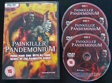 Painkiller Pandemonium - Black, Overdose & Resurrection - PC DVD-ROM - Fast P&P!