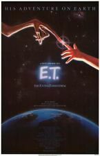 E.T. The Extra Terrestrial 1982 Orig Movie Poster 27x41 Single Sided Very Mint