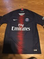 NIKE PSG 2018/19 Home Jersey, Size Large - New With Tags