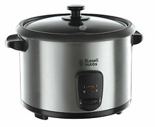 RUSSELL HOBBS 19750 RICE COOKER AND STEAMER , 1.8L -  SILVER (N)