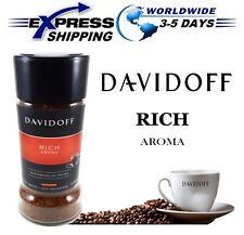 DAVIDOFF Rich Aroma Roasted Ground Masterpiece Of Instant Arabica Coffee 100 gm