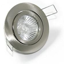 Halogen / LED Einbaustrahler Bajo K9451 12V o. 230V Aluminium-Druckguss rostfrei