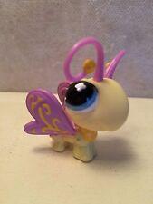 Littlest Pet Shop #621 Yellow Purple Blue Butterfly blue eyes USA seller 9 pics
