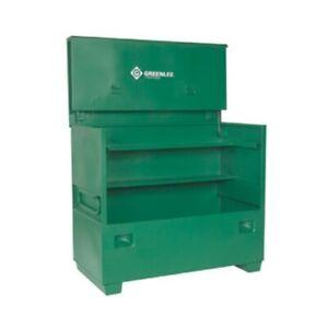 Greenlee 4860 Flat-top box chest for jobsite storage