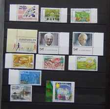 Luxembourg 2004 Commemorative sets Xmas Europa Elections Food Liberation MNH