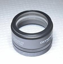 Olympus SZ51 SZ61 Microscope Objective 110ALK 0.3X wt Adjustable WD 250 to 350mm