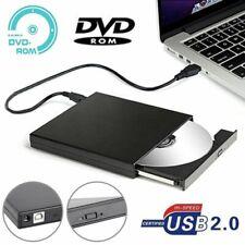 Lettore Masterizzatore CD RW DVD ROM Esterno portatile USB 2.0 per Notebook PC
