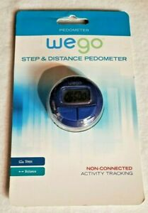 WEGO Pedometer We Go Step & Distance Activity Tracking Steps & Distance
