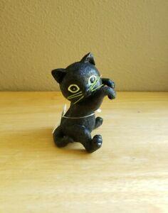 Bath and & Body Works 2021 Halloween BLACK CAT Candle Jar Hanger