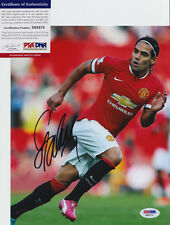 RADAMEL FALCAO MANCHESTER UNITED COLOMBIA SIGNED AUTO 8X10 PHOTO PSA/DNA COA #4