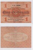 1 Goldmark Banknote Leipzig Meßamt für Mustermessen 15.11.1923 (122502)