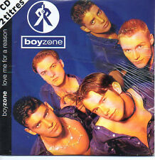 CD Single BOYZONE	Love me for a reason 2-track CARD SLEEVE RARE POCHETTE COULEUR