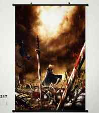 Fate/stay Night Fate Zero Saber Home Decor Anime Japanese Poster Wall Scroll 217