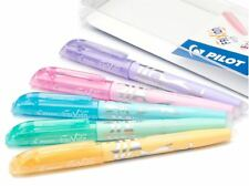 Pilot Frixion Light Soft Pastel effaçable surligneurs, Assorted Wallet of 5 stylos