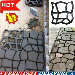 1XPath Maker Driveway Walk Paving Pavement Mold Patio Concrete Stepping G1B6