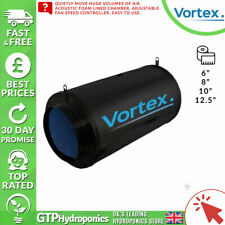 "Vortex - Acoustic Fan - Speed Control Ventilation Cooling 6"" 8"" 10"" 12.5"""